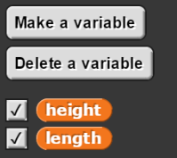Use New Variable in SNAP!